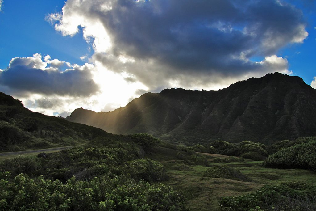 Another view of the valley at Kualoa Ranch.